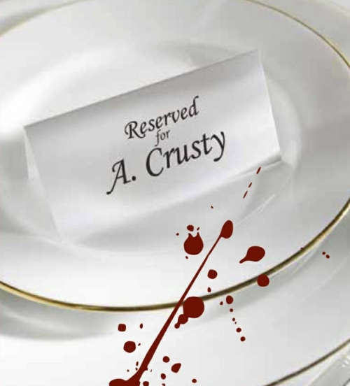Comedy Play Script: 'Agatha Crusty And The Murder Mystery Dinner' by Derek Webb