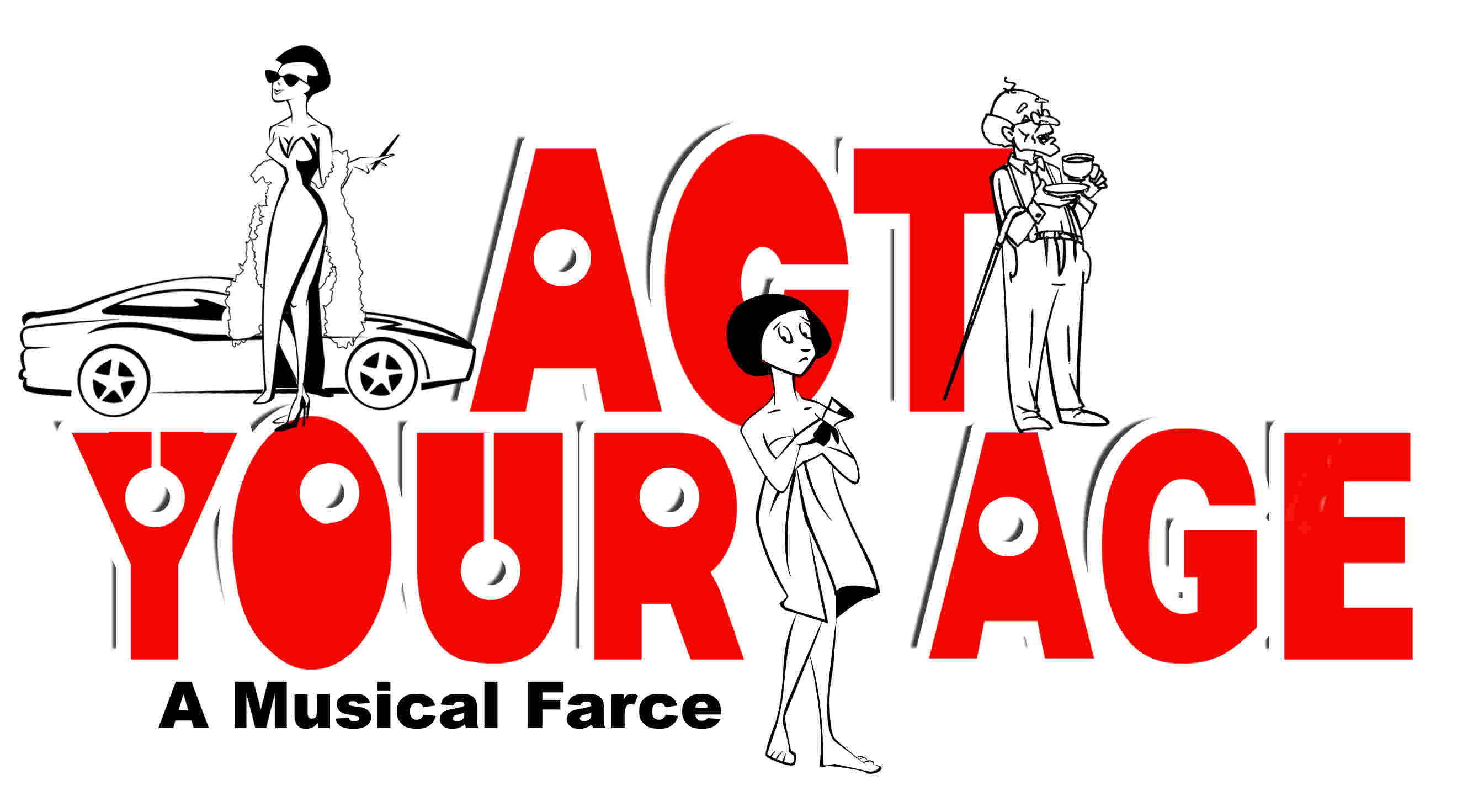'Act Your Age' a musical farce for amateur groups