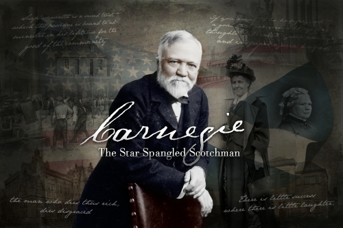 Musical Theatre Drama: 'Carnegie: the star-spangled Scotchman' by Ian Hammond Brown