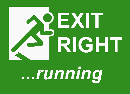 Comedy Play Script: 'Exit Right, Running' by Tony Layton