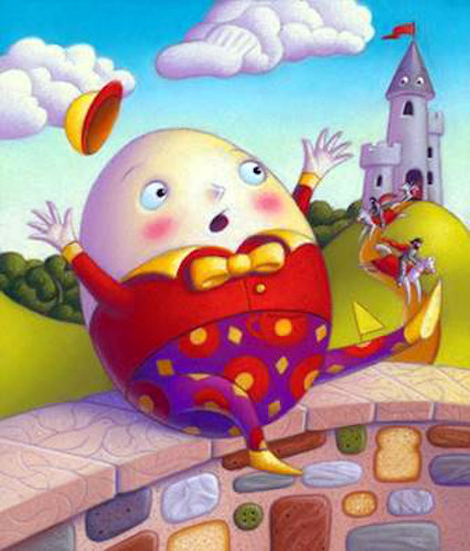 Pantomime: 'Humpty Dumpty's Incredible Cure' by Tony Edwards