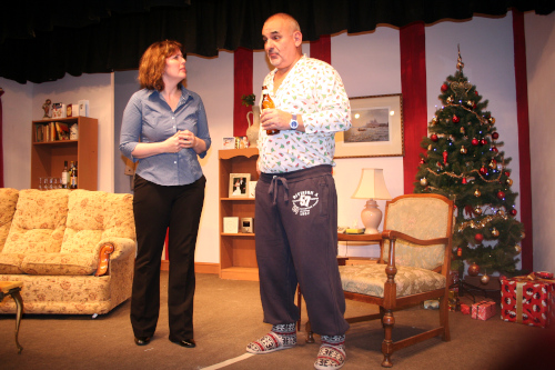 Comedy Play Script: 'Love And Mistletoe' by Raymond Hopkins