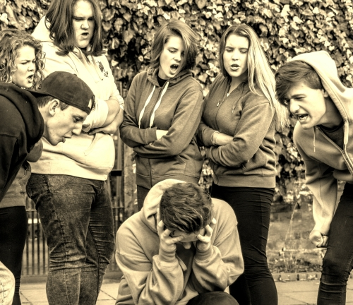 Drama Play Script: 'Make Me Invisible' by Bev Clark