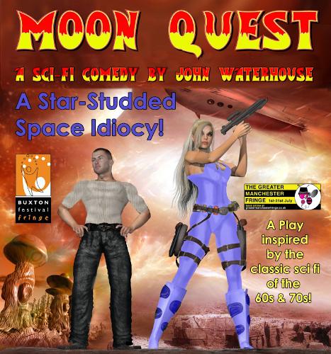Comedy Play Script: 'Moon Quest!' by John Waterhouse