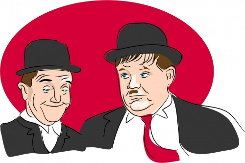 Comedy Drama Play Script: 'Mr Laurel And Mr Hardy' by David Robinson