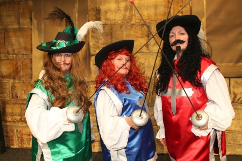 Pantomime: '(not quite) The Three Musketeers'