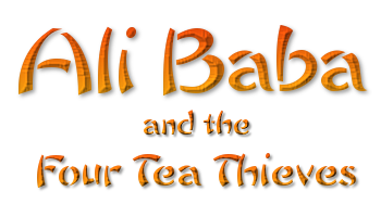 Panto Script: 'Ali Baba And The Four Tea Thieves' by Jackie Staite