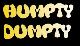 Pantomime Scripts: 'Humpty Dumpty'