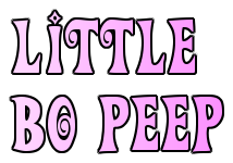 Panto Script: 'Little Bo-Peep' by Adam Godfrey