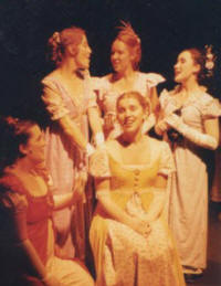 Five daughters from Pride And Prejudice, the musical
