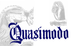'Quasimodo' a sung-through musical by Steven Humfress and Andy Rapps