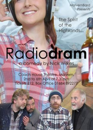 Play Script: 'Radiodram' by Nick Wilkes