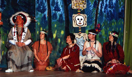 Pantomime Script: 'Red Ridinghood Goes Out West' by Jackie Staite