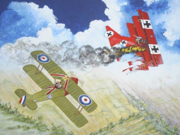 Comedy Play Script ''Roy Brown And The Red Baron' by Derek Webb