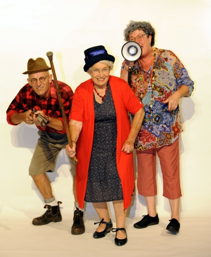 Comedy Play Script: 'The Old People Are Revolting' by Devon Williamson