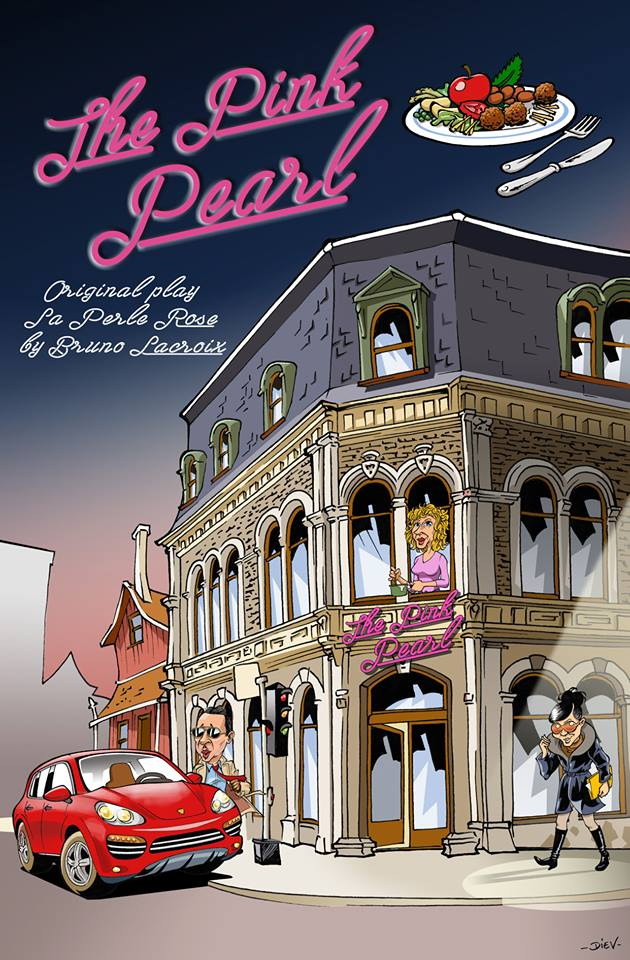 Comedy Play Script: 'The Pink Pearl' by Bruno Lacroix