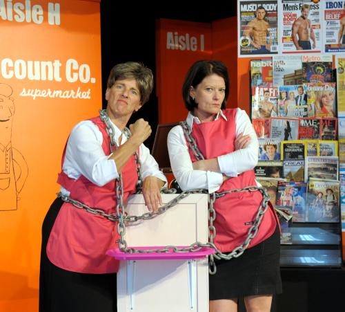 Comedy Play Script: 'The Supermarket Sisterhood' by Devon Williamson