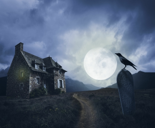 Thriller Drama Play Script: 'The Witch's House' by Norman Robbins
