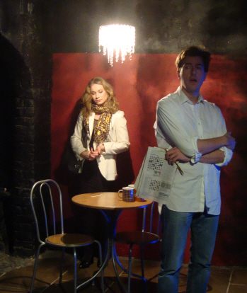 Drama Play Script: 'The Never Ever Cafe' by Xenia Orphanides